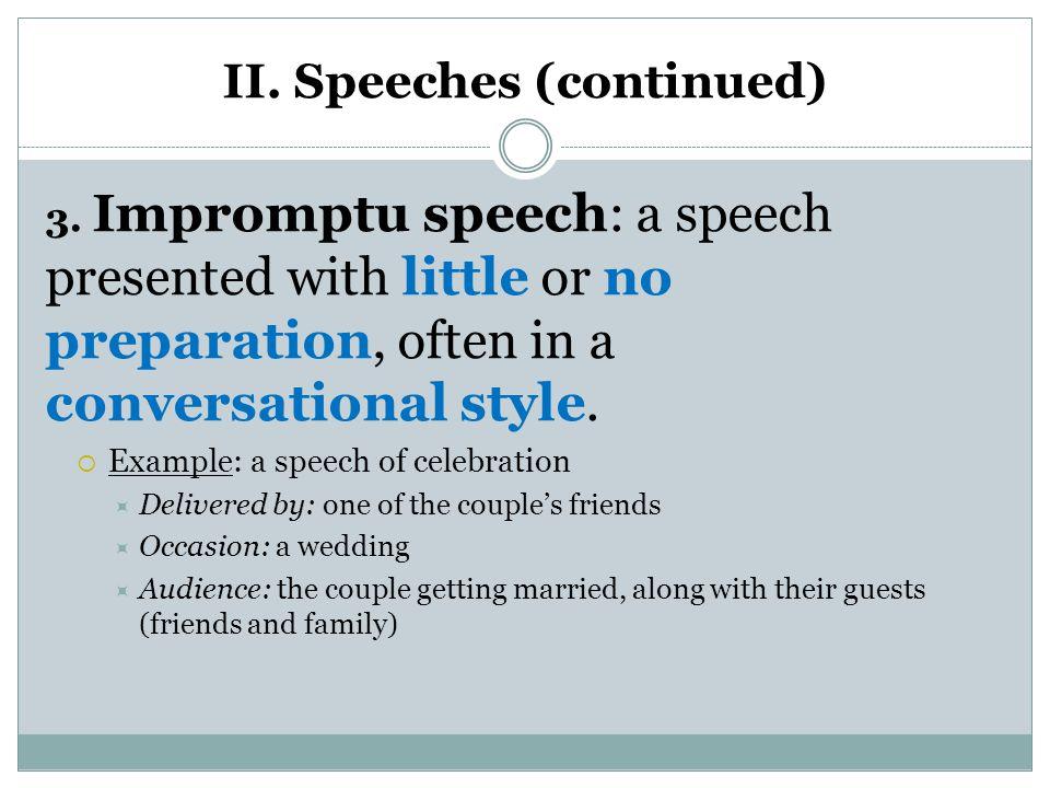 impromptu speech template - Wwwbaseballposse - impromptu speech template