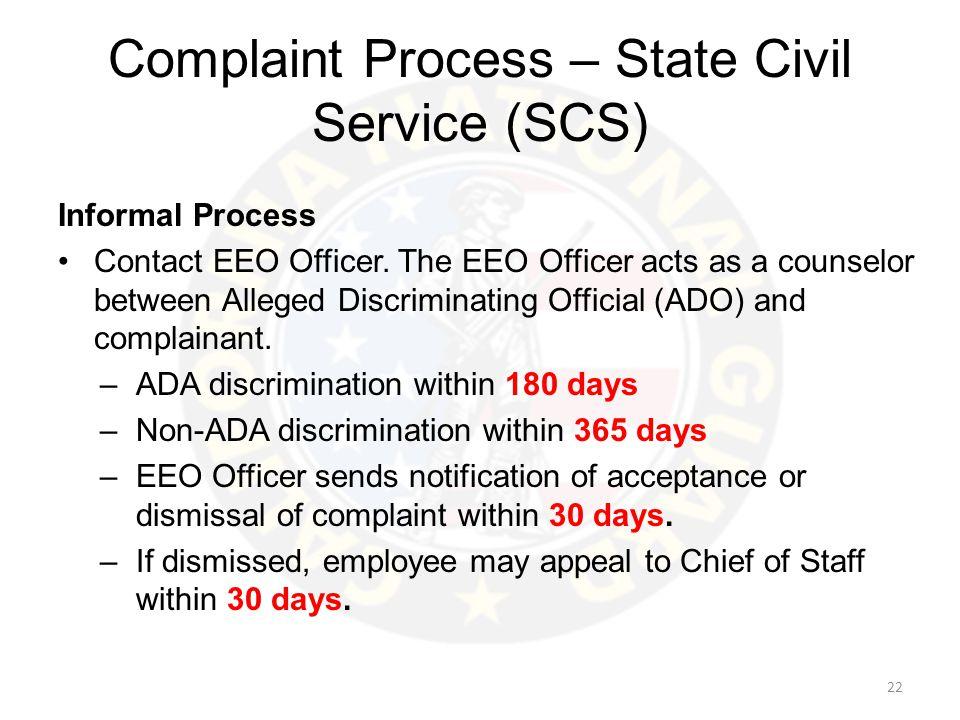 Military u2013 EO Federal u2013 EEO State u2013 EEO - ppt video online download - eeoc complaint form