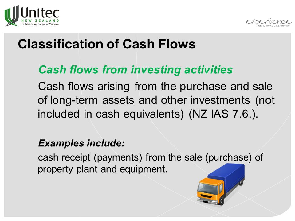 Statement of Cash Flows - ppt download - examples of cash receipts