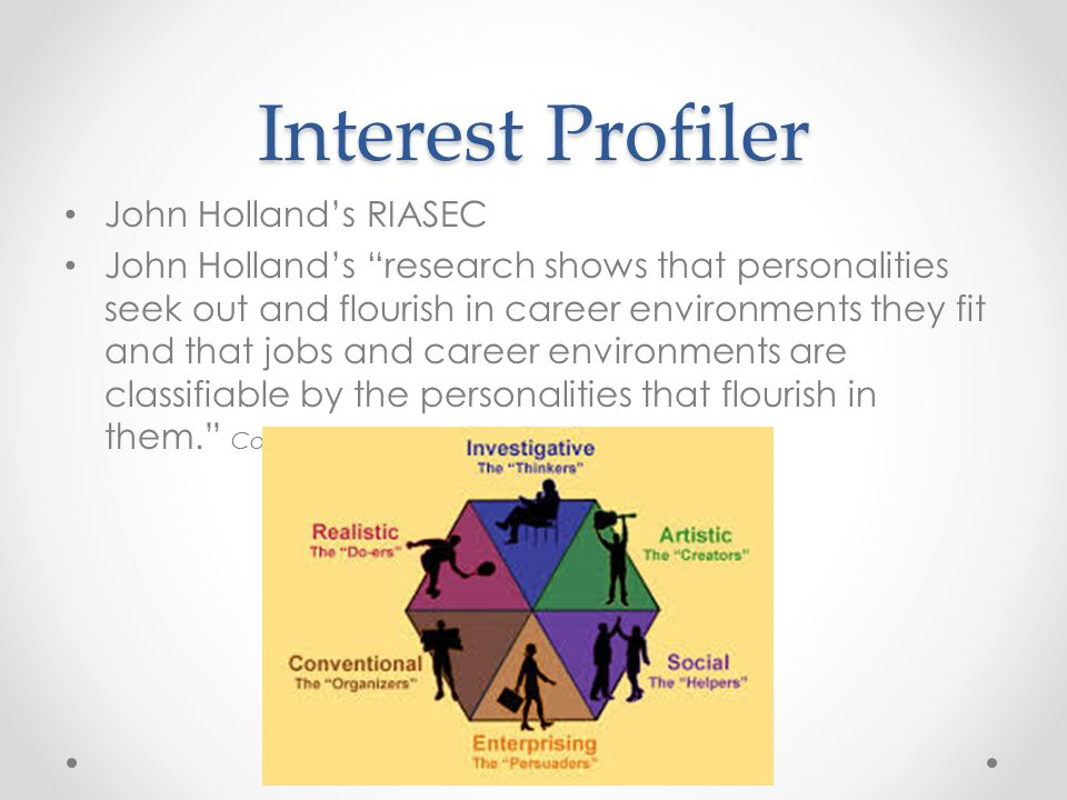 Career Interests Profiler
