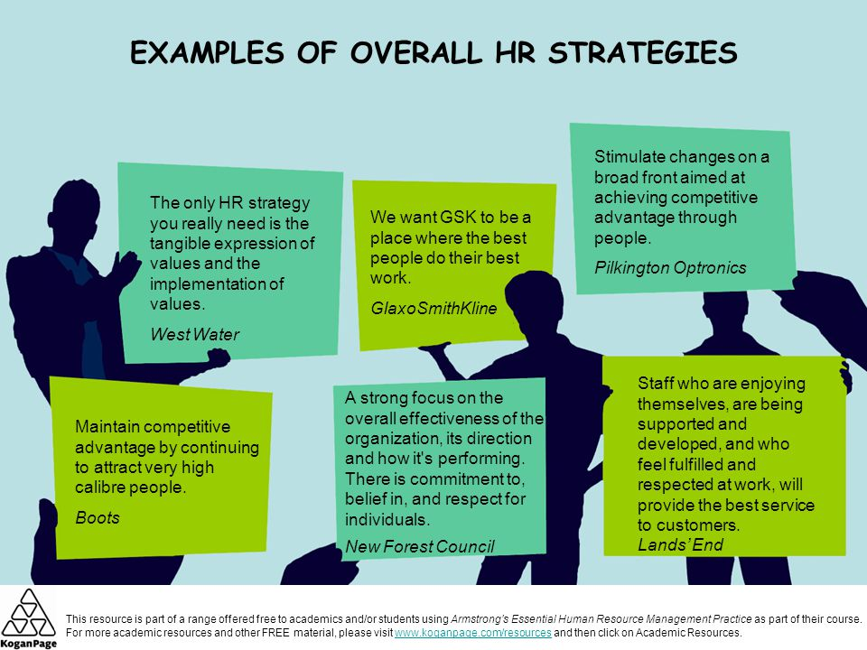 human resource strategies examples - Selol-ink