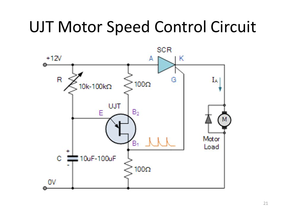 control circuit for dc motor using kjz12 scr electronic