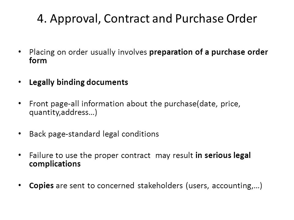Is A Purchase Order A Legal Document - Fiveoutsiders