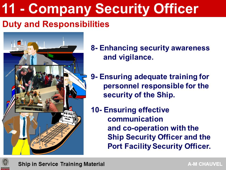 responsibilities of a security officer xv-gimnazija