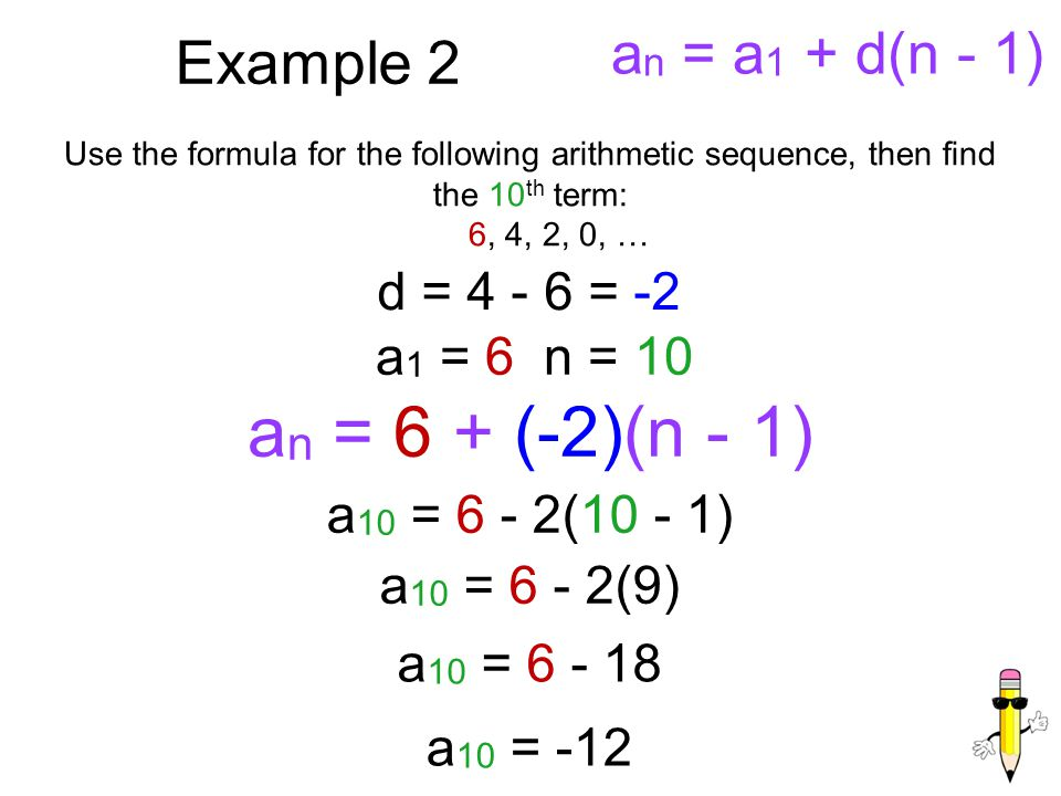 Arithmetic Sequence Example Image Titled Find A Number Of Terms In