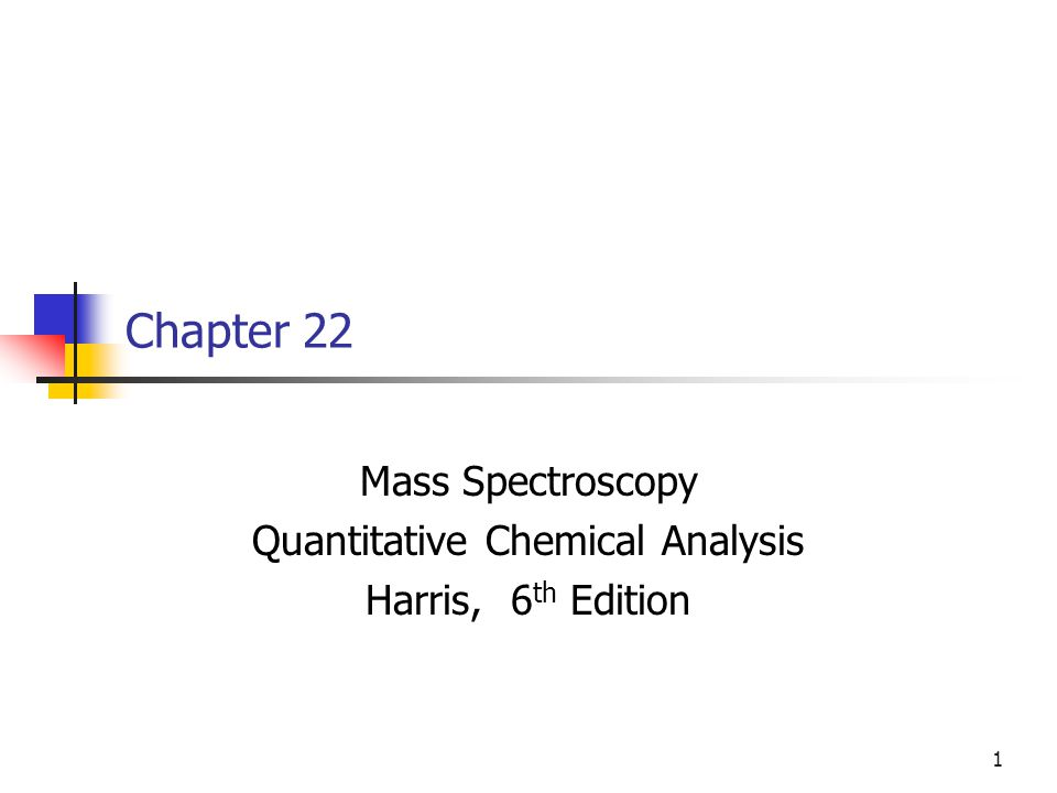Quantitative chemical analysis ophion mass spectroscopy quantitative chemical analysis harris fandeluxe Image collections