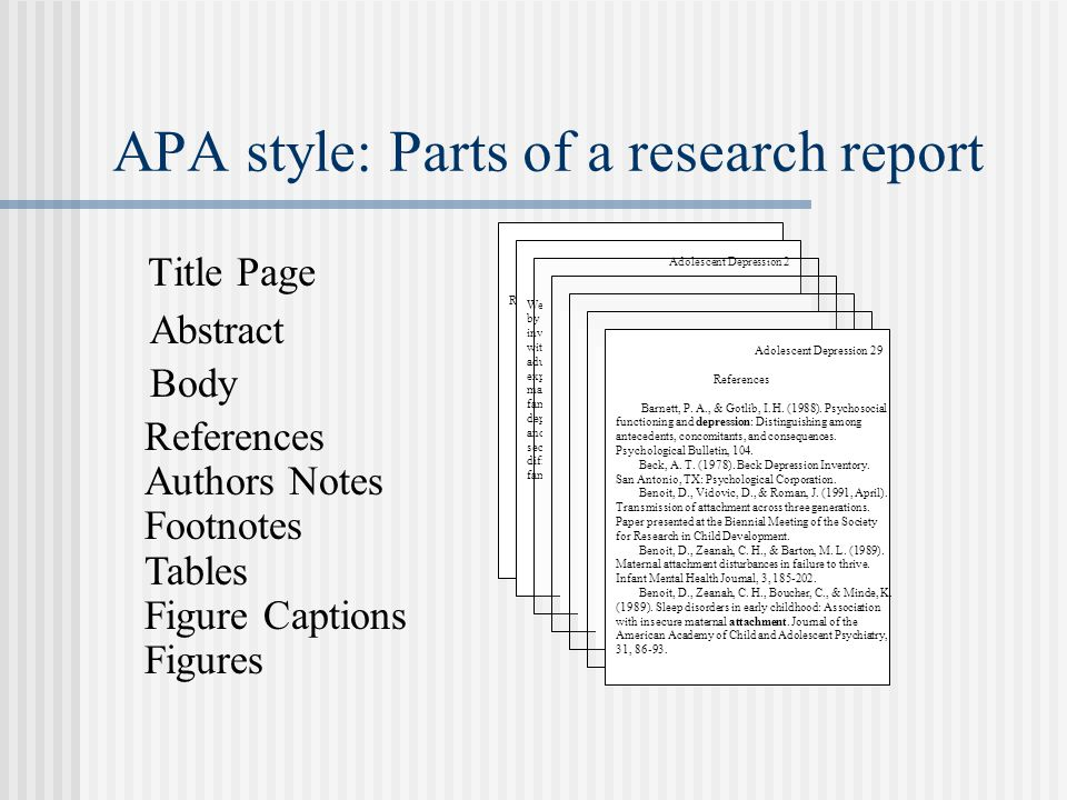 What are the parts of a college term paper based on apa Custom paper - term paper format