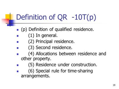 Mortgage Interest Deduction - ppt video online download