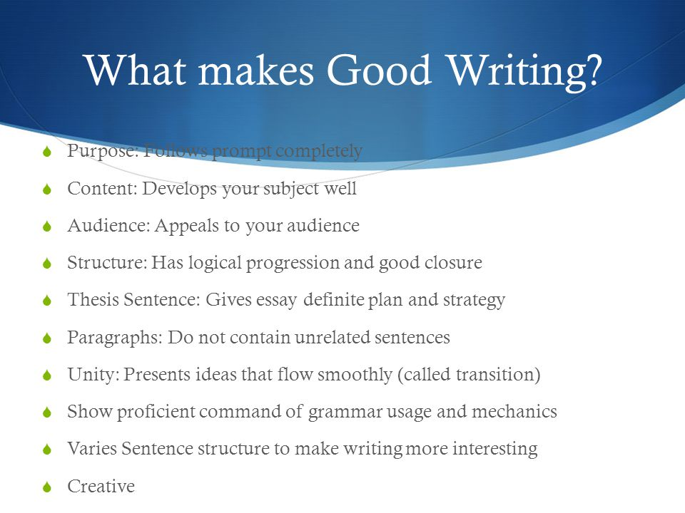Writing An Expository Essay - How to Write Good Expository Essays