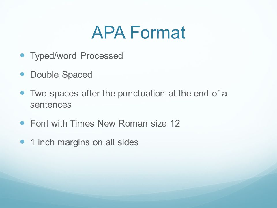 APA Style - ppt video online download