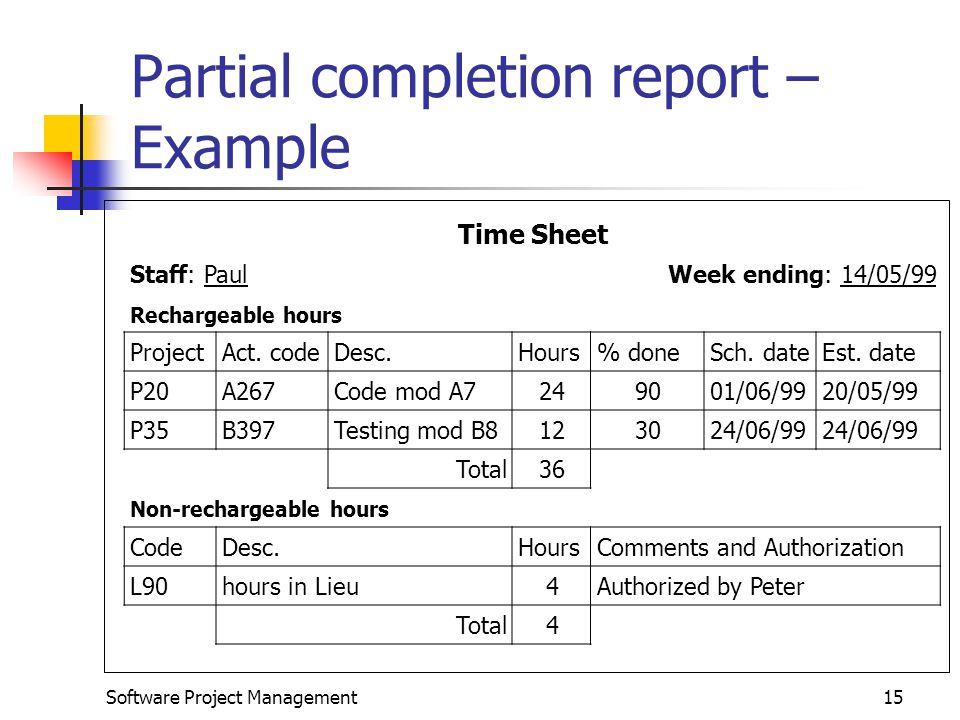 Best Project Completion Report Template Pictures \u003e\u003e Work Completion