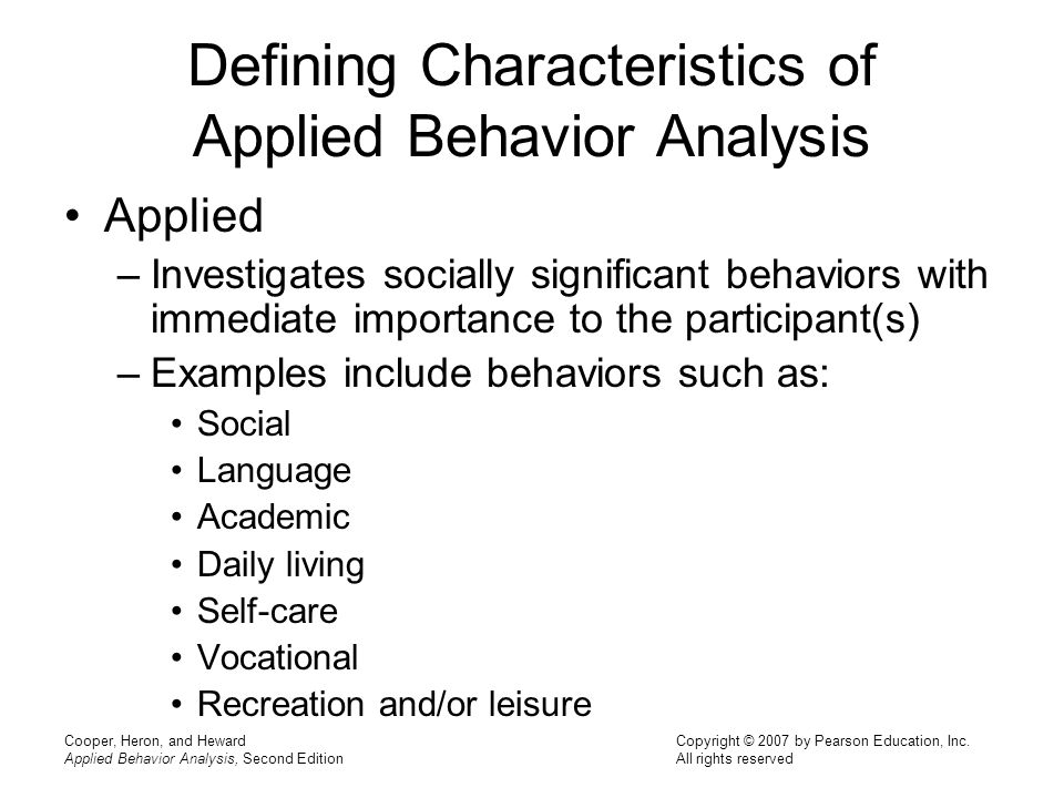 What Is Behavior Analysis Examples Customer Behavior Analysis