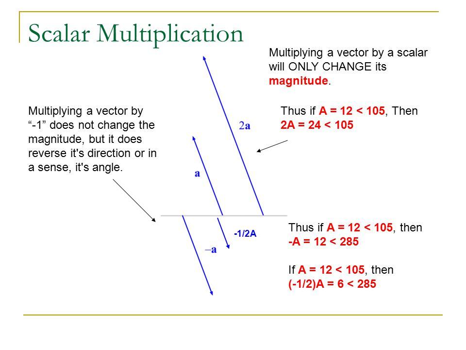 vector and scalar physics