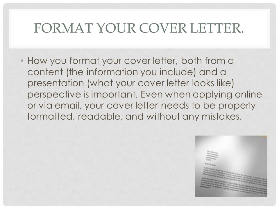 writing a cover letter tips and instructions ppt video online how to format your