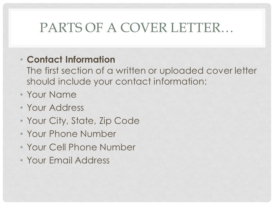 what a cover letter should include - Onwebioinnovate - what a cover letter should include