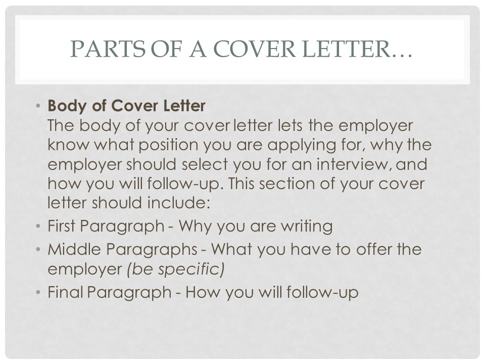 writing a cover letter tips and instructions ppt video online what is on a