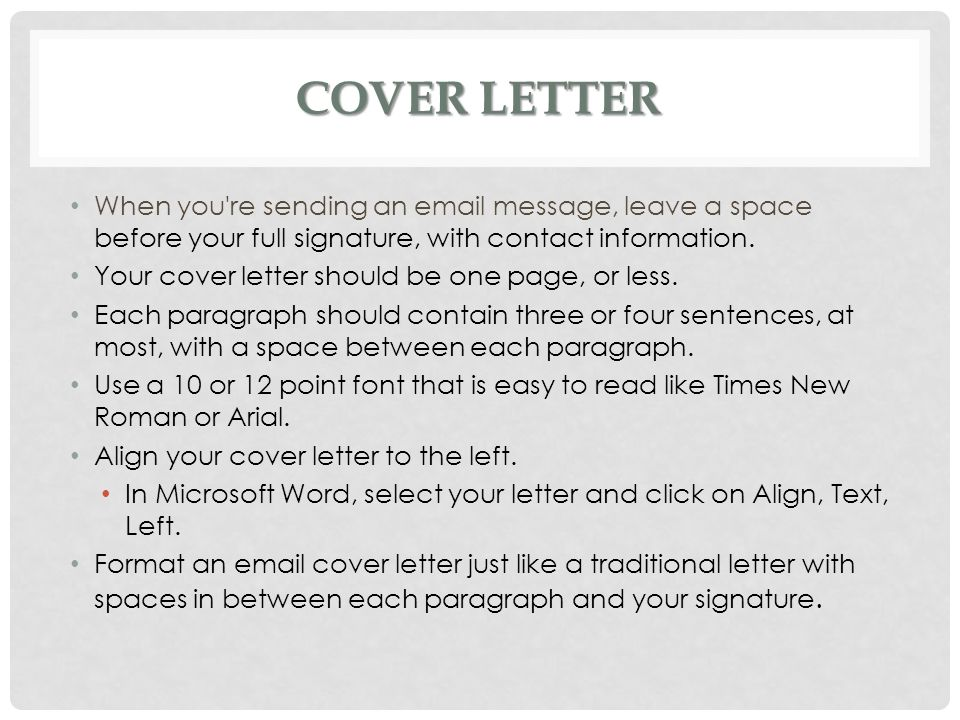 Cover Letters Ms Batichon - ppt video online download - what should a cover letter contain
