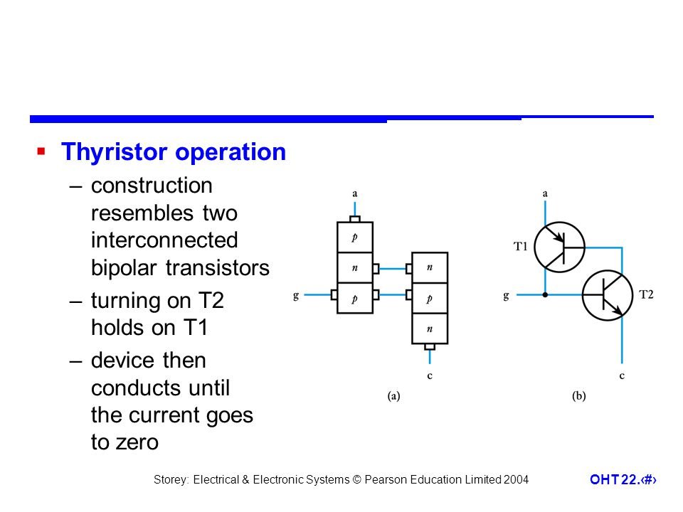 triac construction and operation