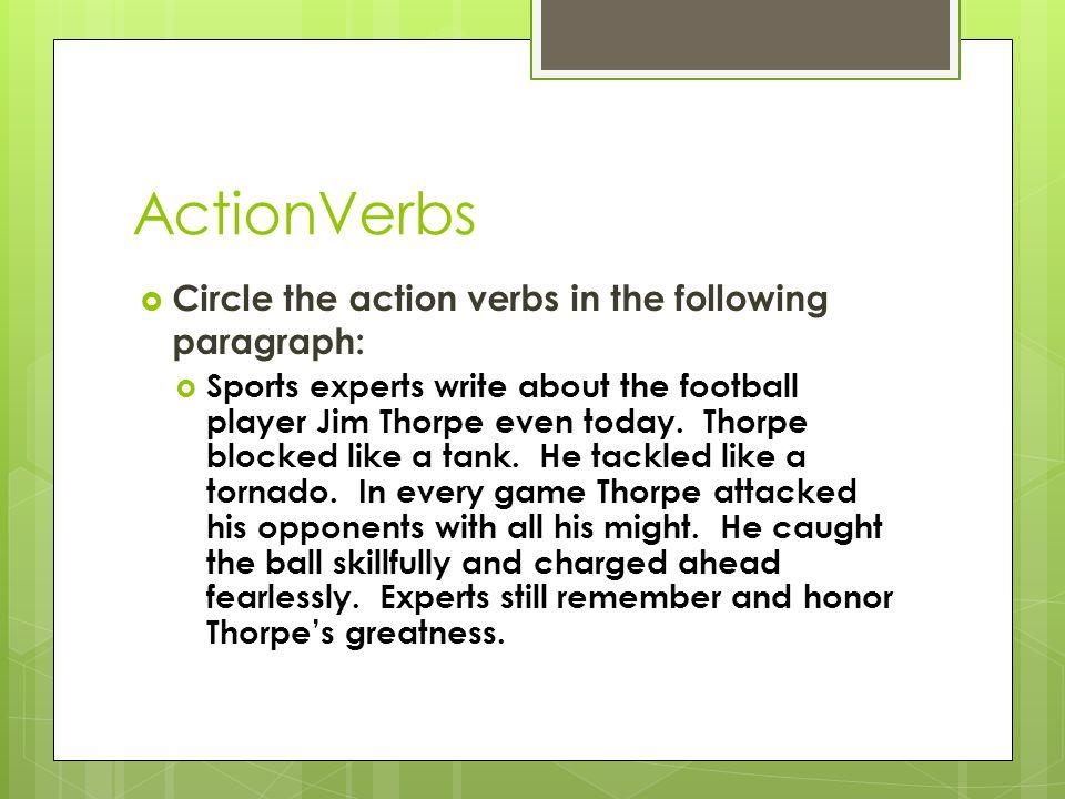 Mrs Cingcade Mrs Horn Mrs Miller - ppt download - all action verbs