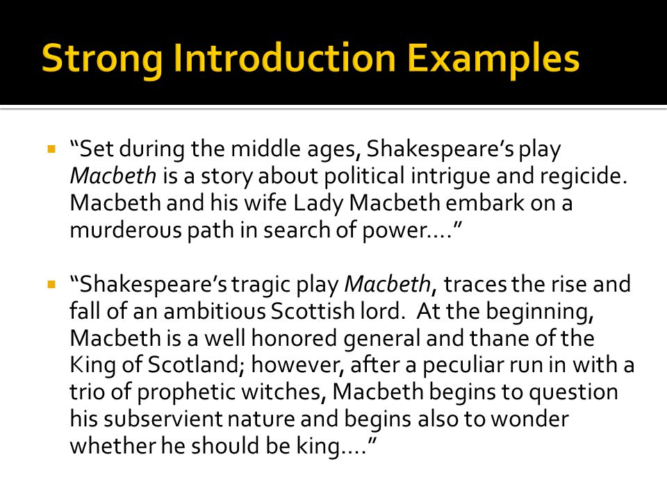 Macbeth essay on power corrupts Homework Sample