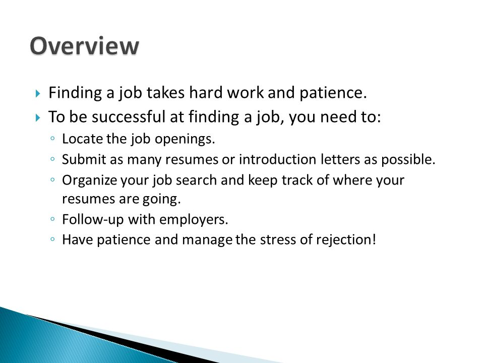 Job Search Workshop - ppt download - finding resumes