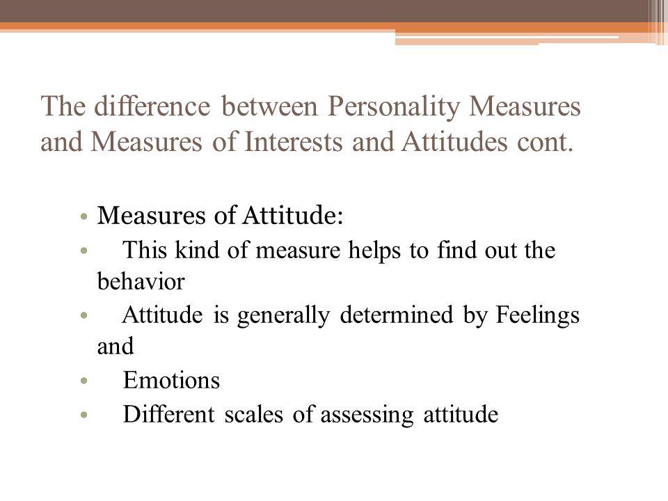 Measures of Emotional and Behavioral Functioning Presentation - ppt - avocational interests