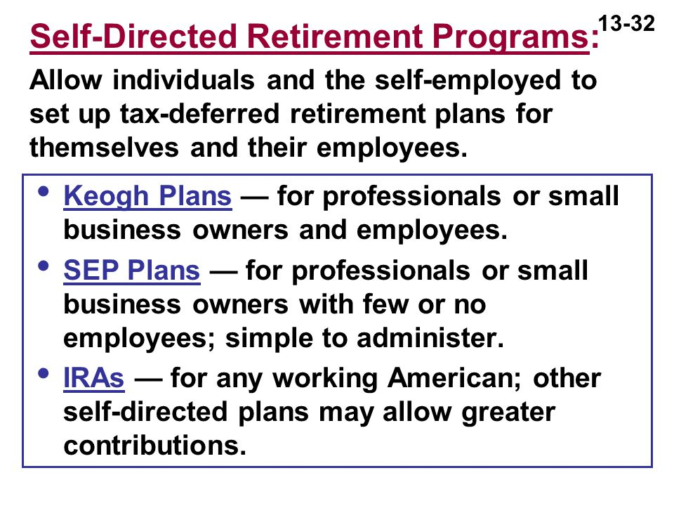 INVESTING IN MUTUAL FUNDS - ppt download - retirement programs