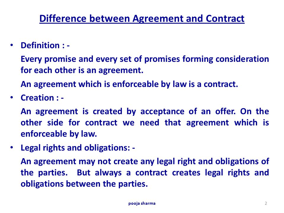 16 Beautiful Letter Agreement Versus Contract Images Complete - Differences Contract Agreement