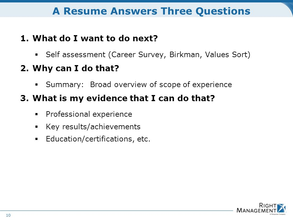 Resume Development WELCOME Materials Resume guidelines worksheets - resume answers