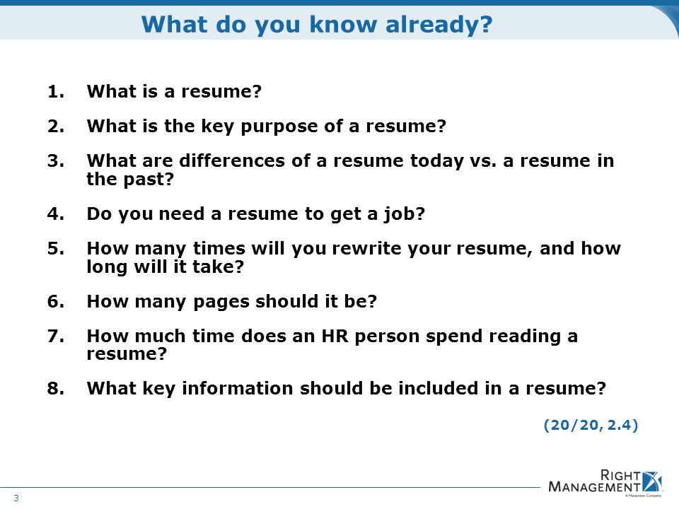 How Many Pages Should Your Resume Be - Resume Ideas
