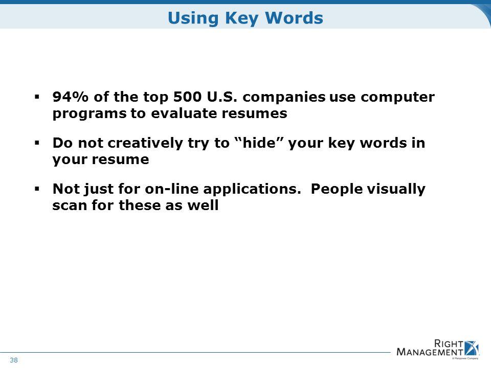 resume development welcome materials resume guidelines worksheets key resume words
