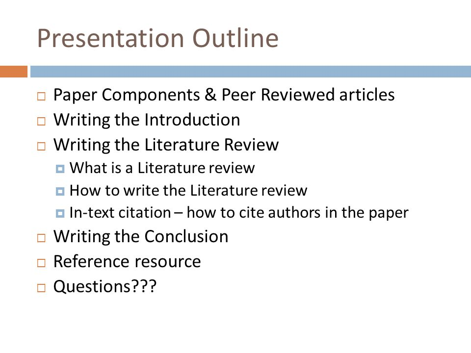 How To Write Papers With Citations