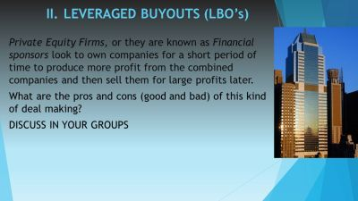 INVESTMENT BANKING LESSON 2: HISTORY AND PURPOSE OF INVESTMENT BANKING: WHAT INVESTMENT BANKERS ...