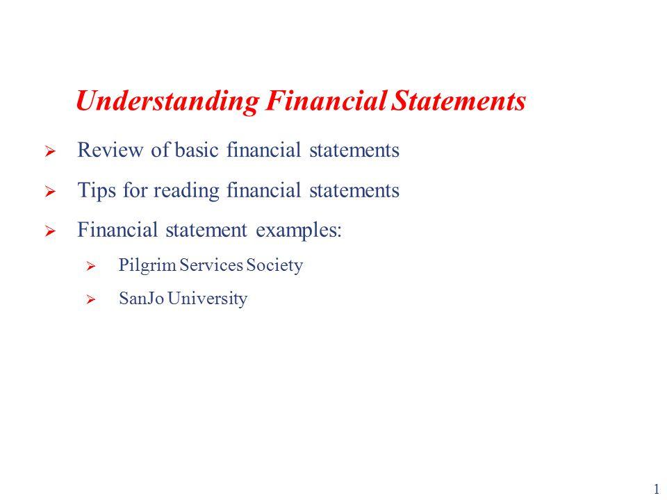 Understanding Financial Statements - ppt video online download - basic financial statement template