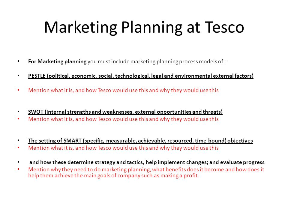 Marketing environment of tesco Term paper Writing Service - Making Smart Marketing Plan