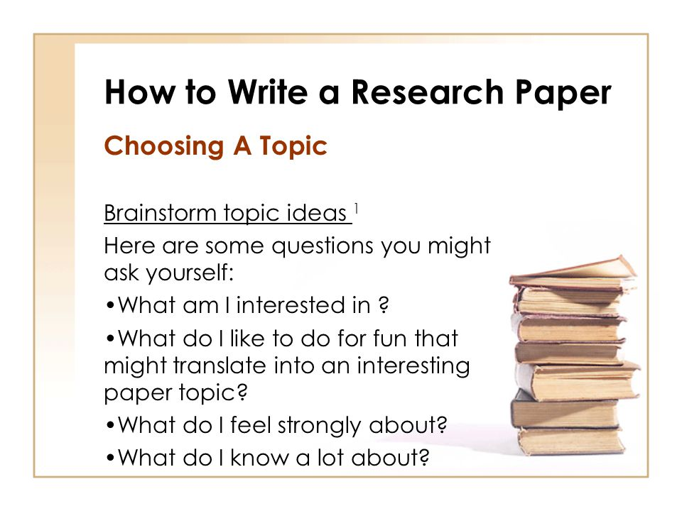 How to Write a Research Paper - ppt video online download - how to write a research paper