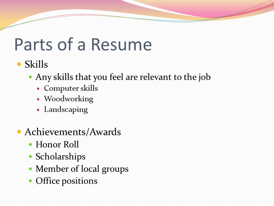 top 10 skills for resume - zrom