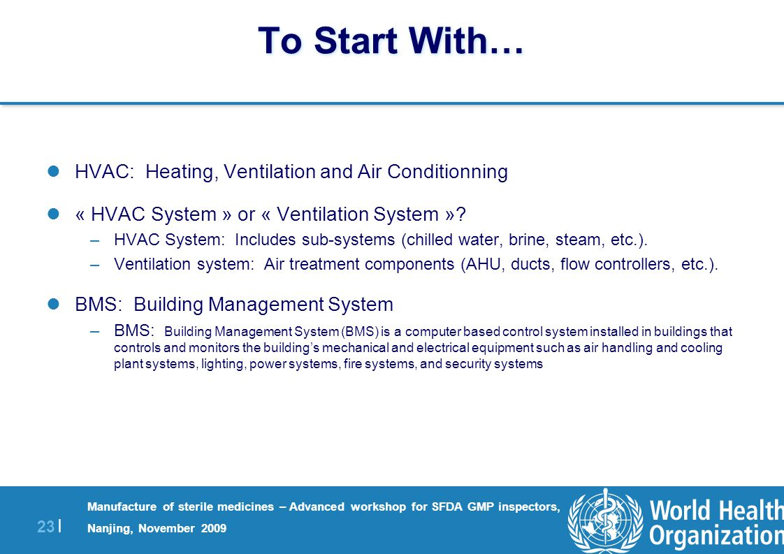 Building Management System Hvac Hvac Technical And Qualification Issues Ppt Download