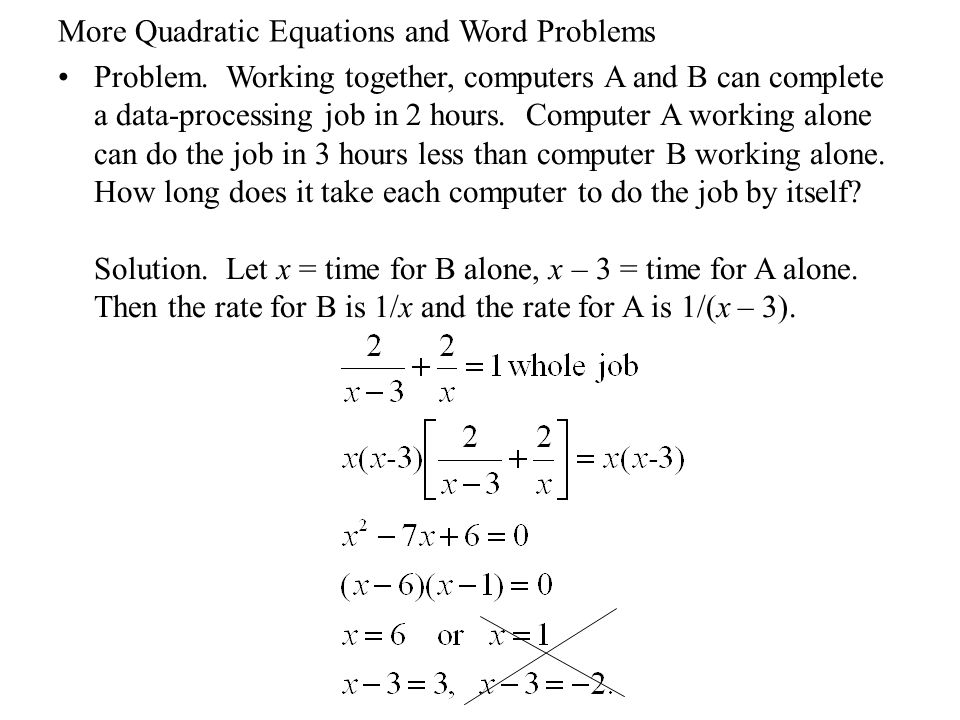 quadratic equations word problems worksheet stinksnthings. Black Bedroom Furniture Sets. Home Design Ideas