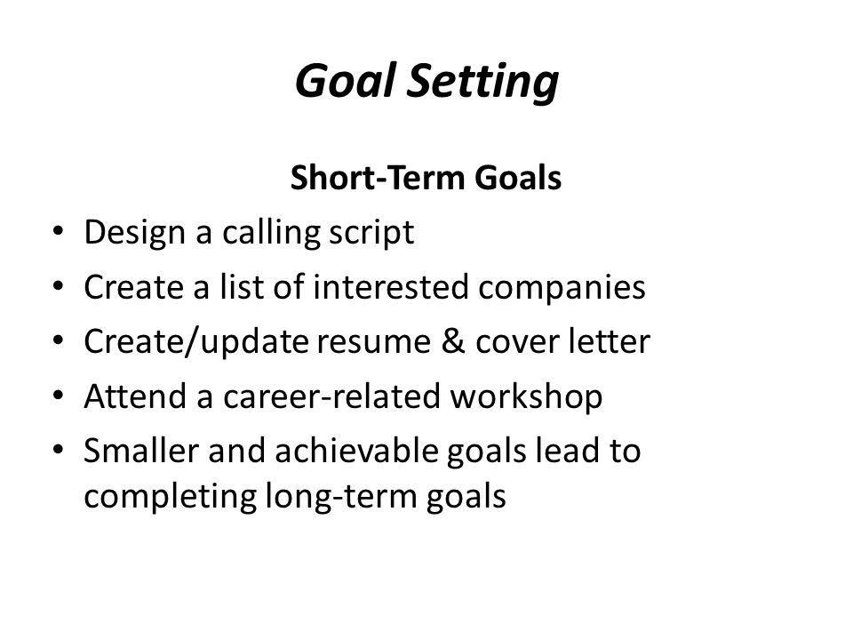 short term career goal yglesiazssa