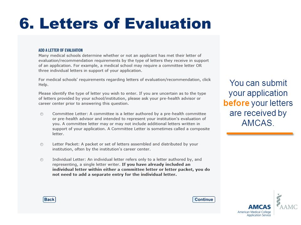 amcas letter of recommendation - Aylaquiztrivia