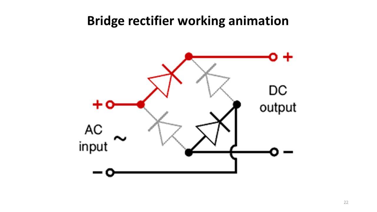 electrical diagram rectifier