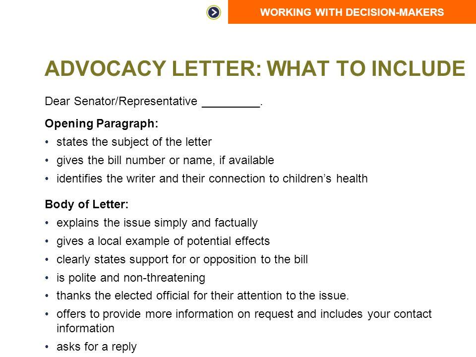 Advocacy letter template costumepartyrun job cover letter example tomyumtumwebcom altavistaventures Gallery