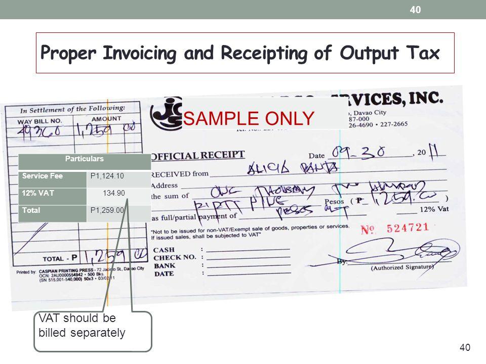 Unique Sample Of Official Receipt Image - Best Resume Examples by - official receipt sample
