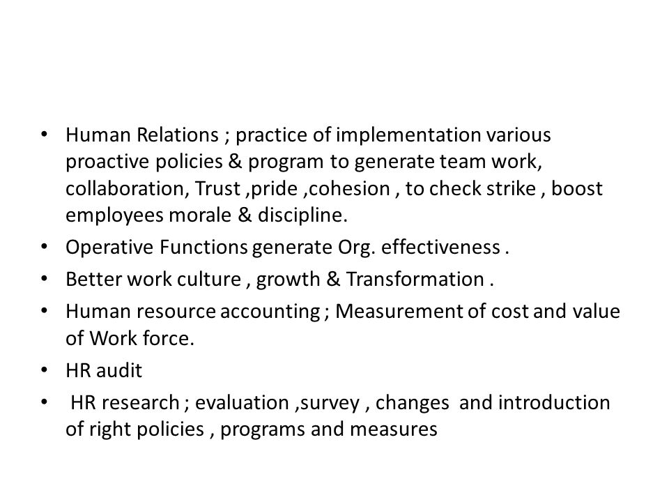 resume strike examples human resources