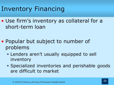 5 Sources of Short-Term Financing Chapter Terry Fegarty Seneca College - ppt video online download