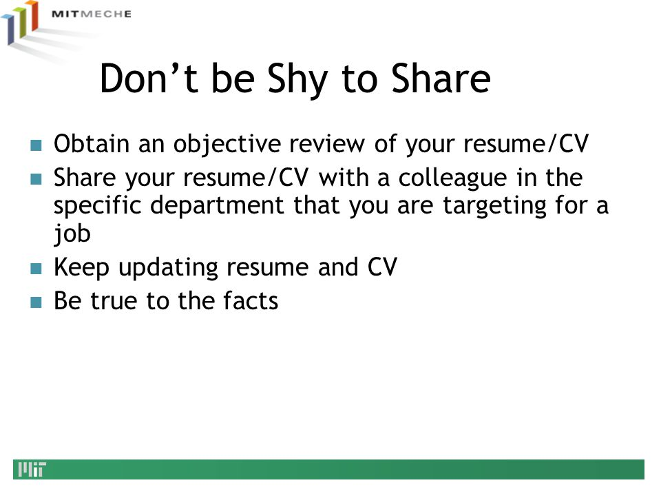 updating your resume dont start job search by updating your