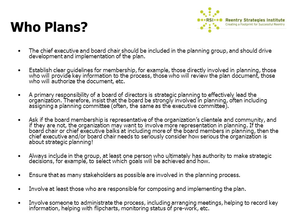 Introduction to Strategic Planning - ppt download - how to make strategic planning implementation work
