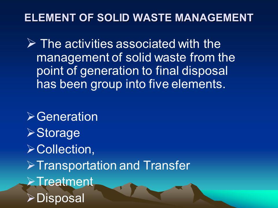 INTEGRATED SOLID WASTE MANAGEMENT - ppt download - waste management ppt
