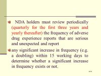 NDA NEW DRUG APPLICATION 1/ ppt video online download
